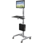 Computer Room Crash Cart Sit or Stand #ML-27614