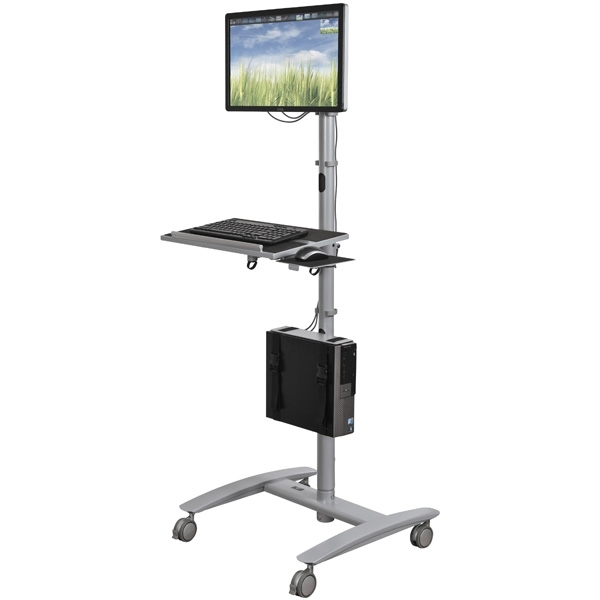 Computer Room Crash Cart Sit Or Stand Ml 27614 Mainline