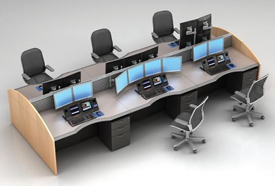 Multi Position Desking Trading Desk Mainline Computer